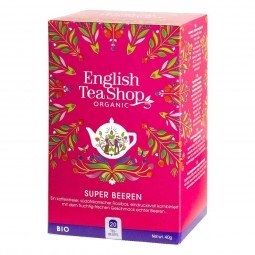TÉ ECOLÓGICO SUPER BERRIES 40g