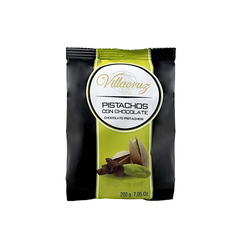 PISTACHOS CON CHOCOLATE
