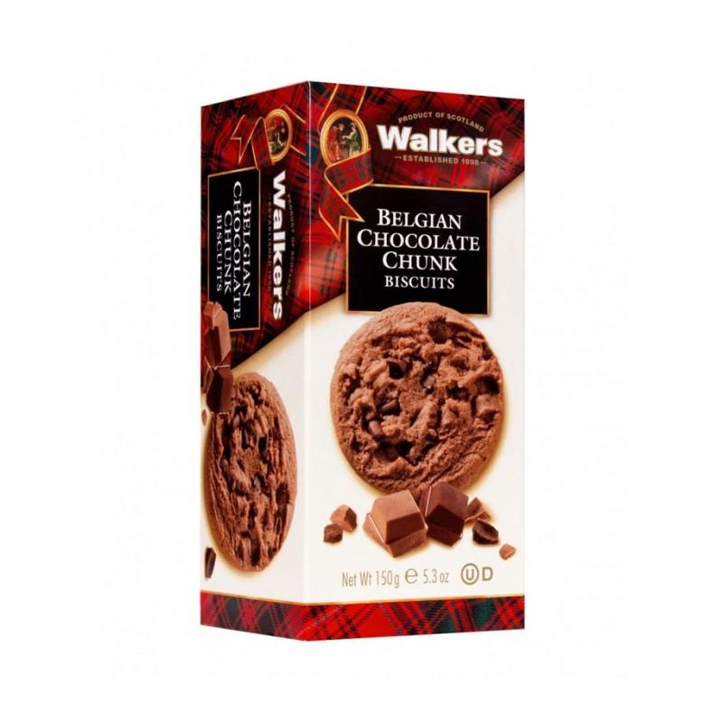 GALLETAS WALKERS CON CHOCOLATE BELGA