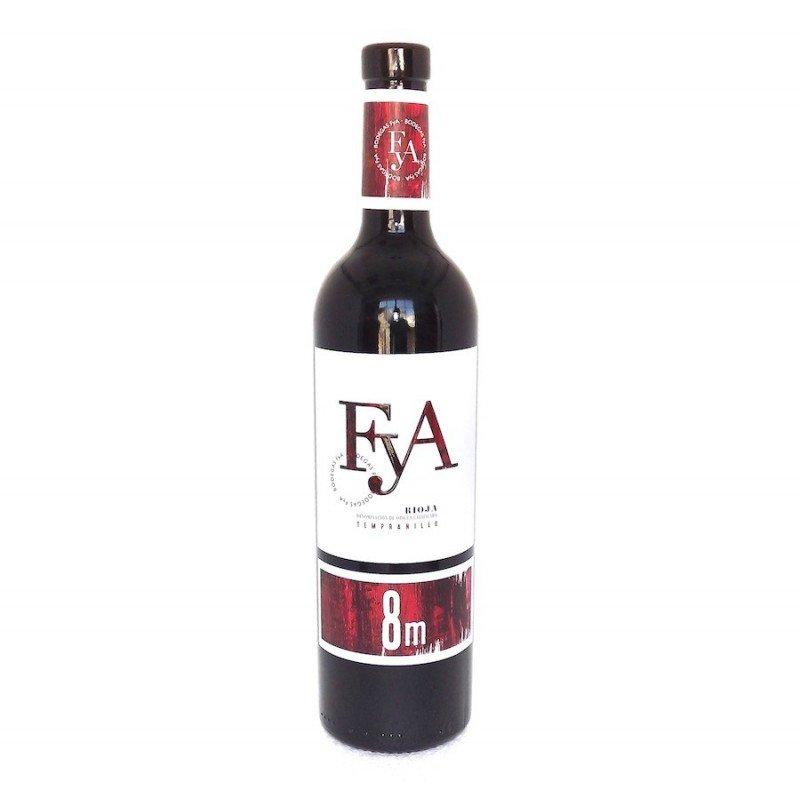 vino rioja 8m tempranillo