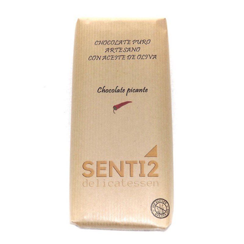 CHOCOLATE PICANTE CON ACEITE DE OLIVA EXTRA VIRGEN SENTI2